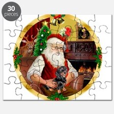 Santa's Dachshund #4 Puzzle