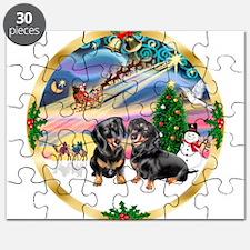XmasMagic/2 Dachshunds Puzzle