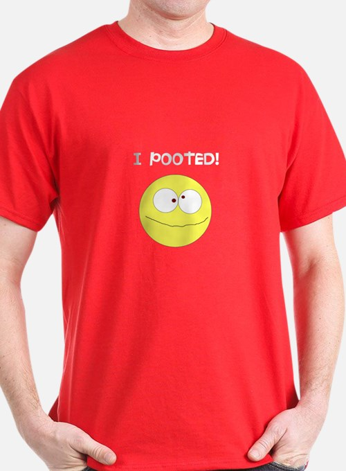 I Pooted, Cheese t-shirt