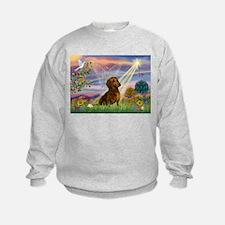 Cloud Angel & Dachshund Sweatshirt