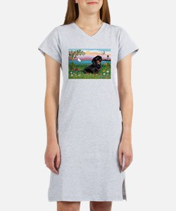Lighthouse Doxie Women's Nightshirt