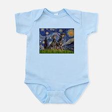 Starry Night & Dobie Pair Infant Bodysuit