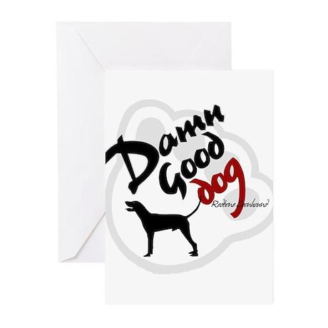 Redbone Coonhound Greeting Cards (Pk of 10)