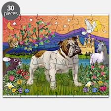 English Bulldog Fantasyland Puzzle
