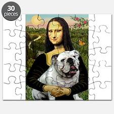 Mona & English Bulldog Puzzle