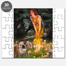 Cute Bulldogs notes Puzzle