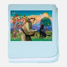 St. Francis & FCR baby blanket