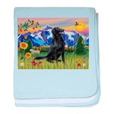 FCR in Mountain Country baby blanket
