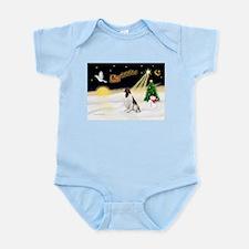 Night Flight/Eng Springer Infant Bodysuit