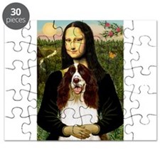 Mona Lisa & Her Springer Puzzle