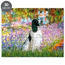 Monet's garden & Springer Puzzle
