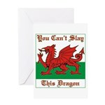 Welsh Dragon Greeting Cards