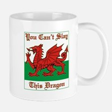 Welsh Dragon Mugs