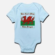 Welsh Dragon Body Suit