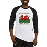 Welsh Dragon Baseball Jersey