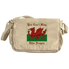 Cute Welsh Messenger Bag