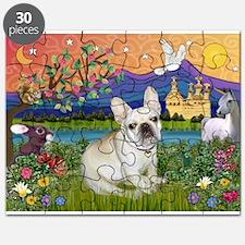 French Bulldog in Fantasyland Puzzle