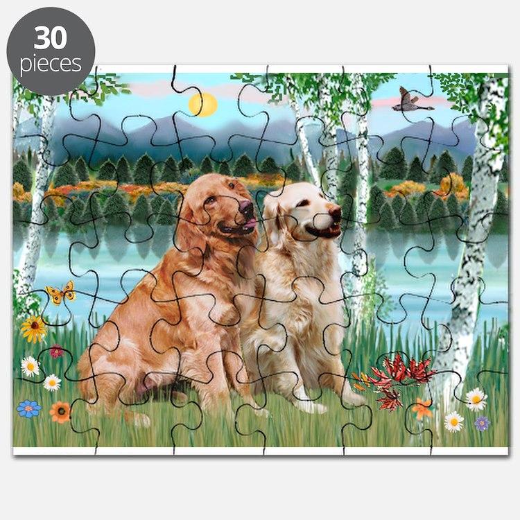 Birches / Golden Puzzle
