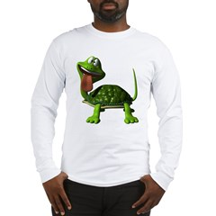 Cute 3D Turtle Long Sleeve T-Shirt