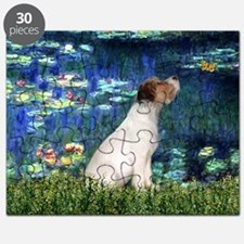 Jack Russell & Lilies Puzzle