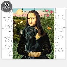 Mona's Black Lab Puzzle