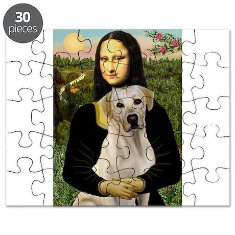 Mona & her Yellow Lab Puzzle