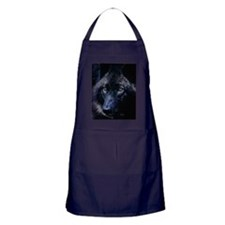 Unique Wolf Apron (dark)