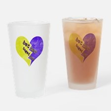 Cute Breast for men Drinking Glass
