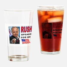 ANTI-OBAMA Drinking Glass