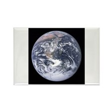 Cute Blue marble earth Rectangle Magnet