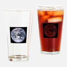Cute Apollo 17 Drinking Glass