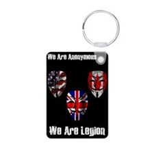 We Are Legion - Anonymous Keychains