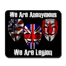 We Are Legion - Anonymous Mousepad