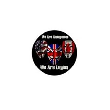 We Are Legion - Anonymous Mini Button (10 pack)