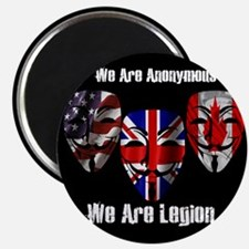 We Are Legion - Anonymous Magnet