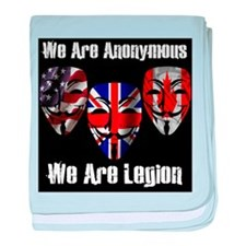 We Are Legion - Anonymous baby blanket