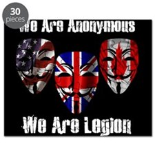 We Are Legion - Anonymous Puzzle