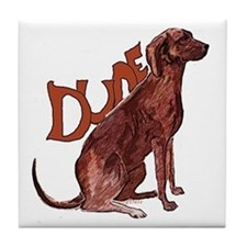 Plott Hound Tile Coaster