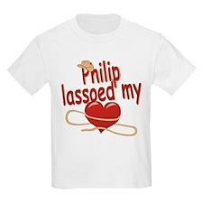 Philip Lassoed My Heart T-Shirt