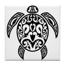 Sea Turtle Tile Coaster