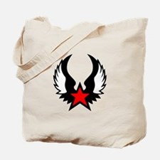 Red Wing Star Tote Bag