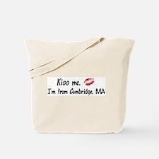 Kiss Me: Cambridge Tote Bag