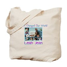 She Changed the World Tote Bag