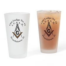 Cass Lodge No. 23 Drinking Glass