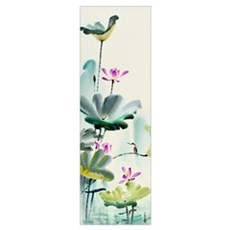 Green Lotus Dew Poster