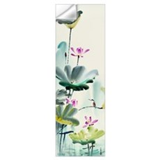 Green Lotus Dew Wall Decal
