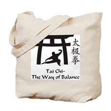 Cute Tai chi Tote Bag