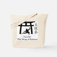 Cute Tai chi Tote Bag