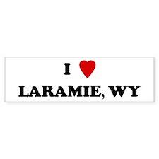 I Love Laramie Bumper Bumper Sticker