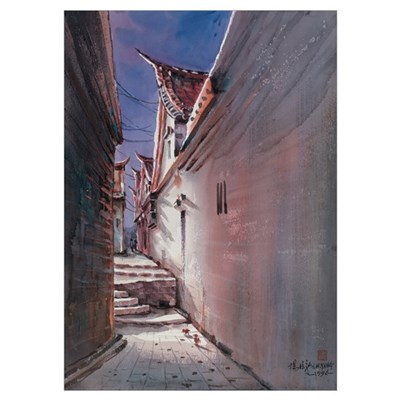 Alley in Kinmen Poster